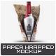 Beer Bottle Paper Wrapped Mock-Up - GraphicRiver Item for Sale