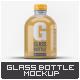 Glass Bottle Mock-Up v.2 - GraphicRiver Item for Sale