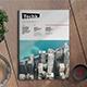 Techk Magazine Template - GraphicRiver Item for Sale