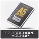 Tri-Fold A5 Brochure Mock-up - GraphicRiver Item for Sale