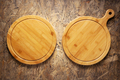 Pizza or bread cutting board for homemade baking on table. Food recipe concept - PhotoDune Item for Sale