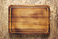 Board for meat or bread cutting on table - PhotoDune Item for Sale