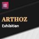 Arthoz - Art Exhibition Elementor Template kit - ThemeForest Item for Sale