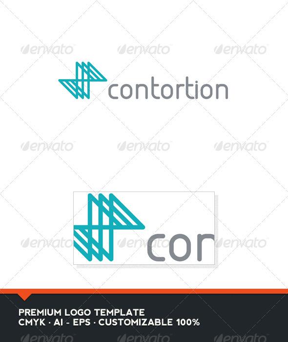 Contortion Logo Template