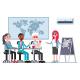 Teamwork Vector Concept Illustration - GraphicRiver Item for Sale
