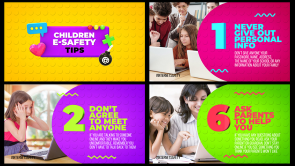 Children E-Safety Tips - Kids Education