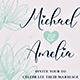 Wedding Invitation Flower - GraphicRiver Item for Sale