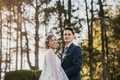 Portrait of a young couple on their wedding day - PhotoDune Item for Sale