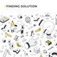 Finding Solution Isometric Illustration - GraphicRiver Item for Sale