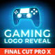 Gaming Logo Reveal for Final Cut Pro X - VideoHive Item for Sale