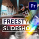Freestyle Slideshow | Mogrt - VideoHive Item for Sale