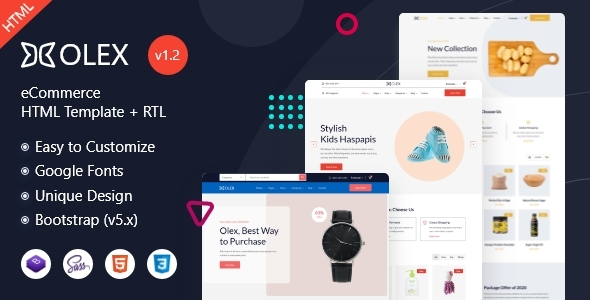 Review: Olex - eCommerce HTML Template free download Review: Olex - eCommerce HTML Template nulled Review: Olex - eCommerce HTML Template