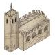 Medieval Building Map Icon Vintage Illustration - GraphicRiver Item for Sale