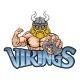 Viking Gamer Gladiator Warrior Controller Mascot - GraphicRiver Item for Sale