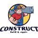 Construction Guy Mascot Logo - GraphicRiver Item for Sale