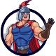Spartan Warrior Mascot Logo - GraphicRiver Item for Sale