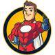 Superhero Red Mascot Logo - GraphicRiver Item for Sale