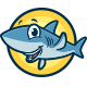 Cute Shark Mascot Logo - GraphicRiver Item for Sale