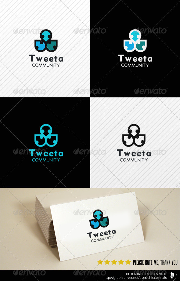 Tweeta Logo Template