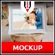 Photorealistic Photo Frame Mockup - GraphicRiver Item for Sale