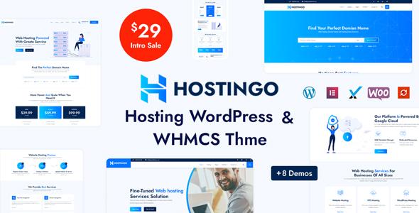 Hostingo – Hosting WordPress & WHMCS Theme, Gobase64