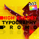 Energy Typography Promo  | For Final Cut & Apple Motion - VideoHive Item for Sale