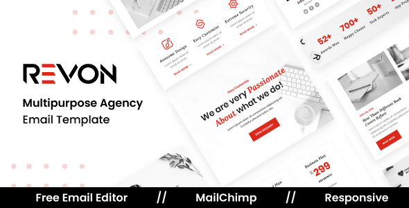 Download Revon Agency - Multipurpose Responsive Email Template
