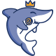 Little Shark Mascot Logo - GraphicRiver Item for Sale