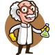 Scientist Mascot Logo - GraphicRiver Item for Sale