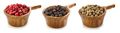 various pepper in wooden cup - PhotoDune Item for Sale