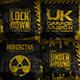 Music Album Urban Grunge Cover Artwork Templates Bundle - GraphicRiver Item for Sale