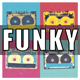 Funky Bass Guitar Logo