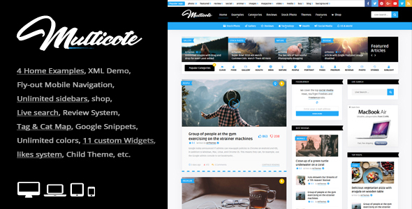 Review: Multicote - Magazine and WooCommerce WordPress Theme free download Review: Multicote - Magazine and WooCommerce WordPress Theme nulled Review: Multicote - Magazine and WooCommerce WordPress Theme