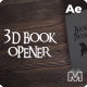 3D Book Opener - VideoHive Item for Sale