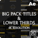 Lower Thirds & Titles Pack - VideoHive Item for Sale