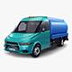 Generic Light Truck Tank v 1 - 3DOcean Item for Sale