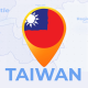 Taiwan Animated Map - Republic of China ROC Travel Map - VideoHive Item for Sale