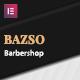 Bazso - Barbershop Elementor Template Kit - ThemeForest Item for Sale