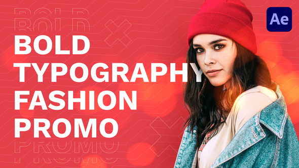 Bold Typography Fashion Promo