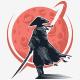 Dark Samurai Logo - GraphicRiver Item for Sale
