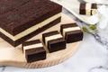 Three layer steam chocolate cheese cake - PhotoDune Item for Sale