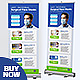 Surgical Mask Roll Up Banner - GraphicRiver Item for Sale