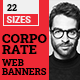 Corporate Web Ad Banners - GraphicRiver Item for Sale