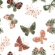 Seamless Pattern with Cute Watercolor - GraphicRiver Item for Sale