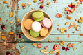 Colorful almond cookies - PhotoDune Item for Sale