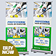 Professional Disinfecting Services Roll up Banner - GraphicRiver Item for Sale