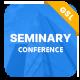 Seminary - Seminar Conference Google Slides Presentation Template - GraphicRiver Item for Sale