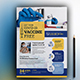 Vaccination Event Flyer - GraphicRiver Item for Sale