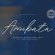 Amibata - Elegant Signature Font - GraphicRiver Item for Sale