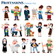 Professions cartoon Character - GraphicRiver Item for Sale